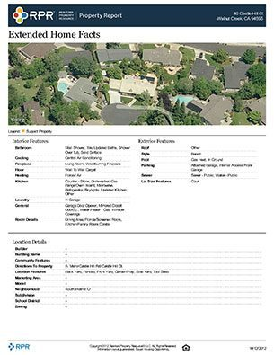 Comprehensive Property Report Sample (Page 4)